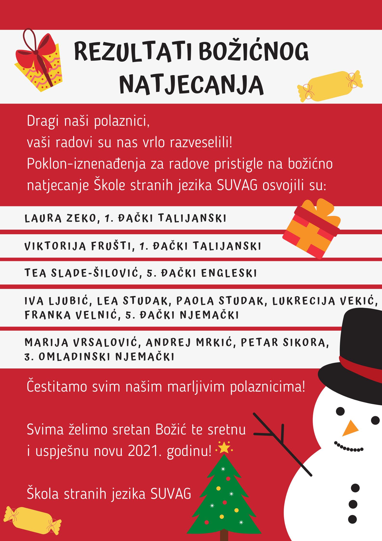 Božićno natjecanje ŠSJ