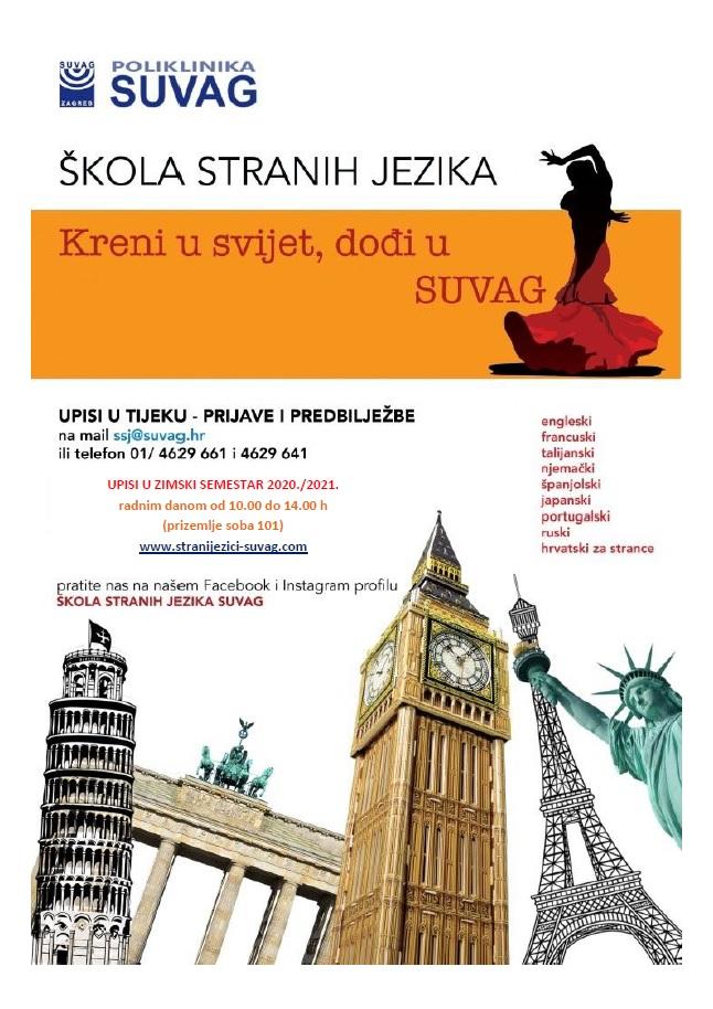 Upisi u školu stranih jezika