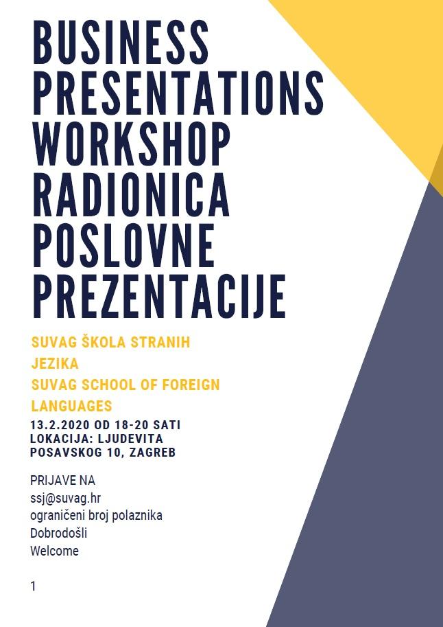 Radionica poslovne prezent._Workshop_poster
