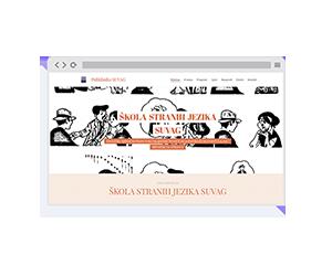 Mrežna stranica Strani jezici SUVAG